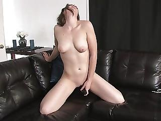 Bored Young Housewife In Solo Self Satisfaction
