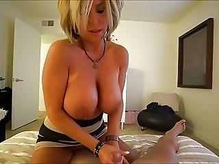 Hot Milf In Sexy Dress Fuck