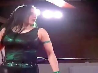 (women Wrestling) Dark Angel Sarah Stock Vs Mschif