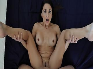 Eva Long Is Hungry For A Young Cock And Her Stepson Is There To Help
