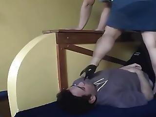 A Slave On The Floor