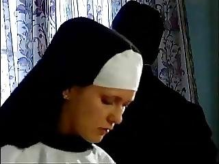 Young Nun Takes Her First Cock