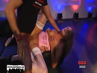 Babe, Blonde, Blowjob, Bukkake, Cum, Cum Covered, Cumshot, Dick, Facial, Fucking, Gangbang, German, Young
