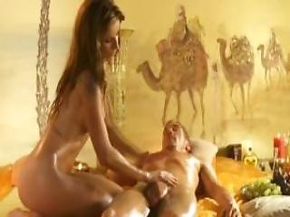 Smooth Massage Sensation For A Huge Cock