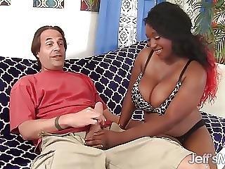 Duże Cycki, Murzynka, Cycek, Czarnoskóra, Hardcore, Przy Kości, Seks