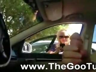 Car Dick Hot Blonde Mom
