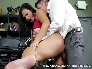Wicked   Secretary Keisha Grey Gets Pounded By Her Boss