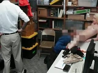 Mischievous Shoplifting Teen Punished In Front Of Her Dad