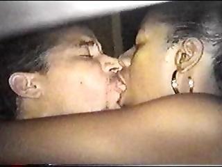 Black Girl Kissing