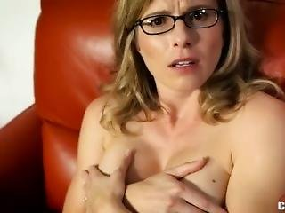 Girls have sex naked with a sex toy
