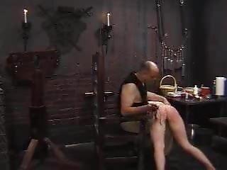 Bondage S & M Tit Torture Spanking Koli