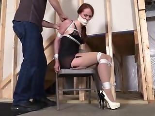 Left Standing In Her High Heels