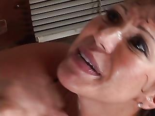 Big Boob, Blowjob, Boob, Brunette, Facial, Fucking, Lingerie, Milf, Oriental, Stocking