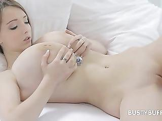 Sweet Teen Busty Buffy Plays With Her Boobies