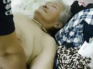 ασιατικό, κινέζικο, granny