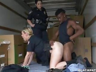 Black Patrol - Police Sex With Bbc In Supply Truck