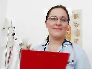 ældre, store bryster, bryst, fed, klinik, fetish, finger, maloner, onani, matur, milf, fræk, medhjælper, fisse, sexet, uniform