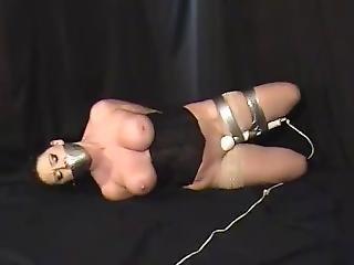 bondage, podłoga, gwiazda porno