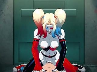 Animated Harley Quinn Porn