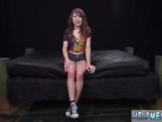 Car handjob while driving teen Faye was