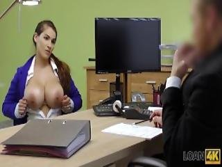 Loan4k Mischel Lee Enjoys Sex For Cash With Manager In His Office