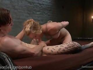 Sex Slave In A Cage