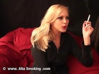 Brea Bennett Smoking (js)
