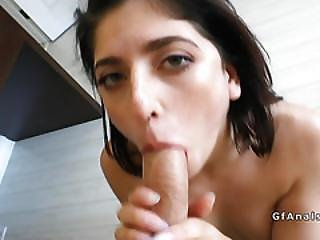 Bf Fingers And Fucks Tight Ass Of Girlfriend
