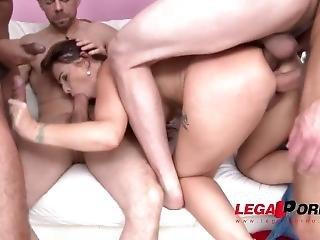 Syren De Mer Takes No Toys Only Big Fucking Cocks (5on1 Dap) Sz1911