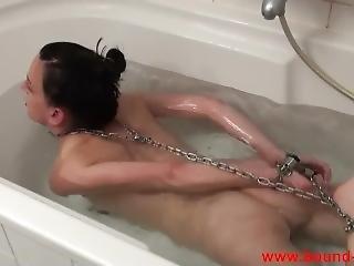bondage, menoté(es), fétiche, solo
