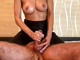 Milf Femdom Edging Handjob Ended With Hysterical From Post Orgasm Torture - Sweet Fantasies