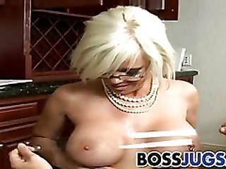 Boob, Boss, Busty, Hardcore, Knockers, Milf, Pornstar, Workplace