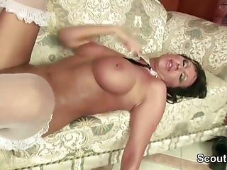 MILF Seduce To Fuck by Two Young Boys