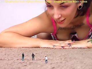 Giantess Play With Tony Slave Sfx