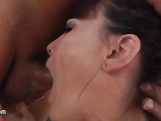 Sweet Schoolgirl Having Throat Deeply Throated