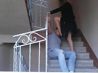 素人, フェティッシュ, 階段