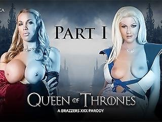 Brazzers - Queen Of Thrones: Part 1 (a Xxx Parody)