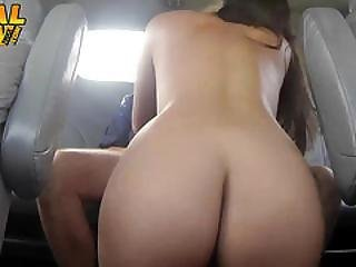 Hot Nurse Giving His Dick A Nice Treatment In The Tow Truck