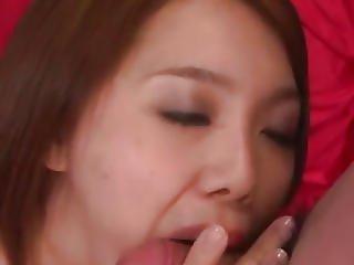 Yurika Momo Takes Good Care Of Two Massive Cocks