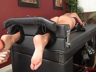 Tickle Abuse - Scarlet Ass Tickling