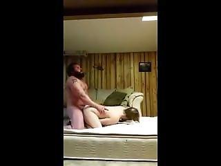 Straight Bear Fucks ( Spycam)