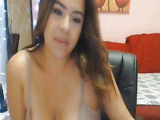 Breasty Blond Honey Getting Wild On Livecam