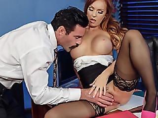 Charles Caught Dani Jensen Rubbing Her Pussy
