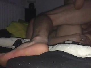 Deep Missionary Fuck, Hardcore Fucking Hot Milf With Cum Inside Pussy