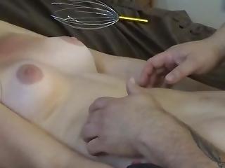 amateur, ventre, blonde, bondage, fétiche