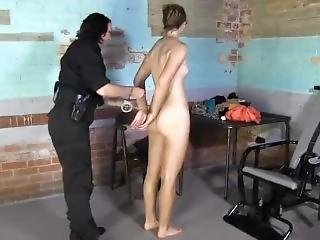 Elizabeth Winters Gets Strip Searched In Jail Part # 2