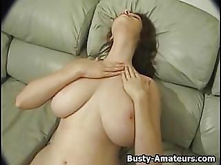 Amateur, Big Boob, Boob, Masturbation