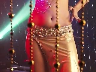 Insane Bellydancer In A Sexy Outfit