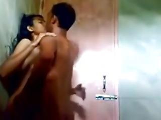 Bhopal College Girl Ayushi... Sex Durning Bath.....mast Chodai!!