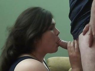 Wife Takes A Huge Facial From A Friend